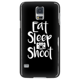 Eat Sleep Shoot - Custom Photographer Phone Cases