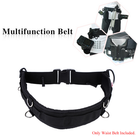 Professional Photography Multi Function Belt (With 8 Rings)for Cameras
