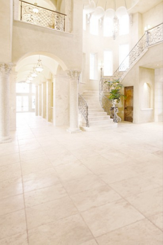 Luxurious Mansion Foyer Wedding Photography Studio Backdrop (10x20 only)