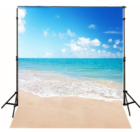 Beach Beauty Photography Studio Backdrop Cloth For Photography