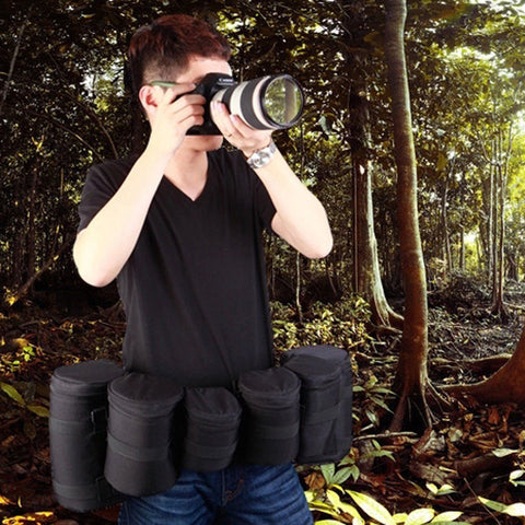 Multi-Function Lens Carrying Belt