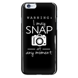 I May Snap - Custom Phone Cases