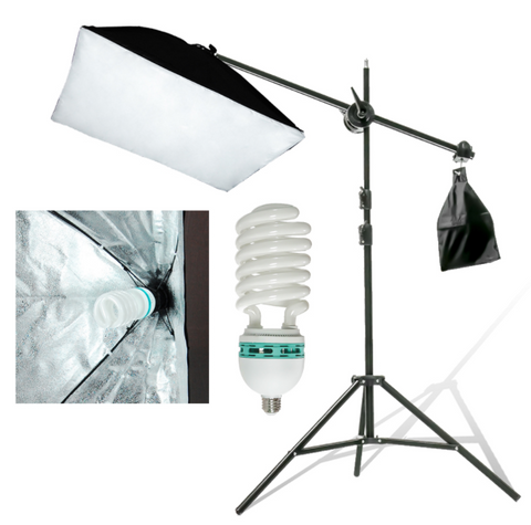 {Special Bundle} Ultimate Photo Studio Complete 3-Point Lighting Kit