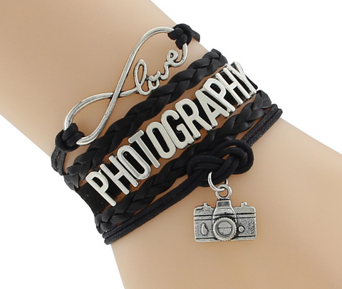 ~Love Photography Fashion Bracelet