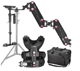 Ultimate Chest Video Stabilizer Rig & Boom System
