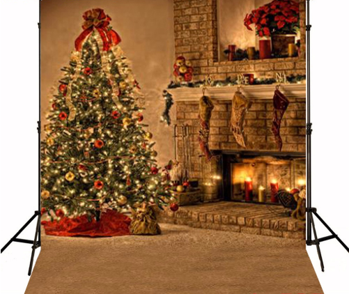 Christmas tree fireplace photography studio backdrop camera gear 1 4 images solutioingenieria Choice Image
