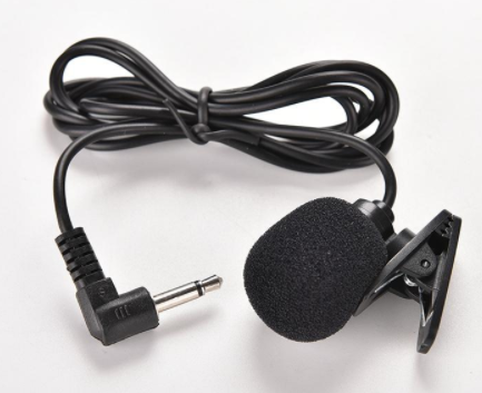 Clip-on Lavalier Universal Microphone With Wire For Mobiles And Computers