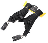 Multi-Camera Double Shoulder Sling System