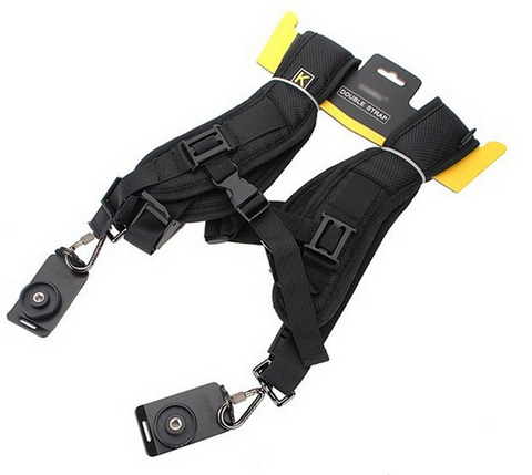 ~Multi-Camera Double Shoulder Sling System