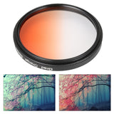 Graduated Color Lens Filter Kit Package Cleaning Cloth & Shockproof Filter Bag