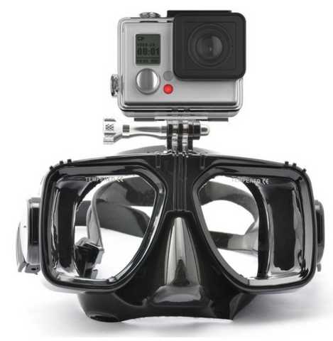Underwater Diving Goggles with GoPro Mount