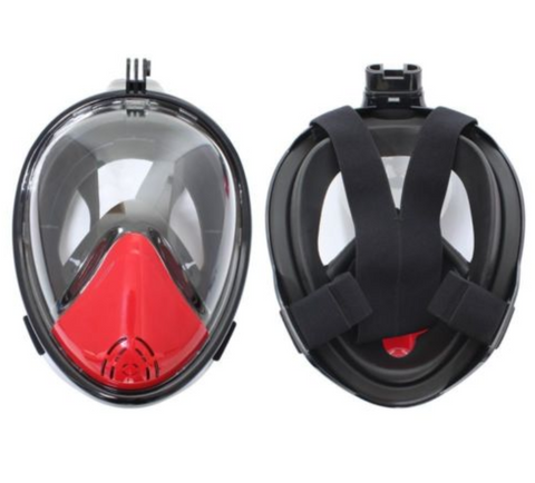 Snorkel Mask with GoPro Mount