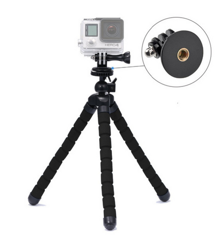 Flexible Sturdy Tri/Monopod for GoPro