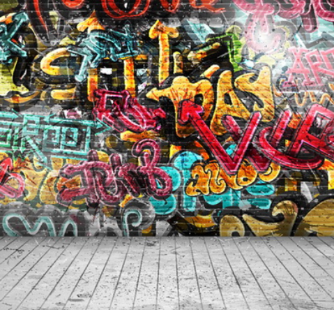 Graffiti Photography Studio Backdrop