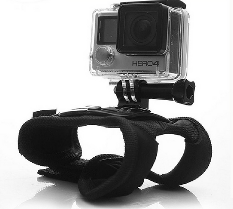 ~Swivel Glove 360-Degree Hand Wrist Strap Mount for GoPro Camera