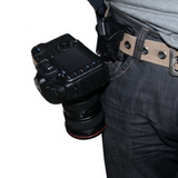 Quick-Release Camera Belt Holster