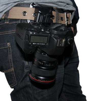 ~Quick-Release Camera Belt Holster