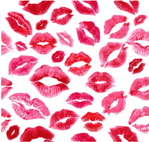 Hot Lips Photography Studio Backdrop