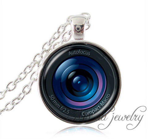 ~Trendy Lens Charm & Necklace