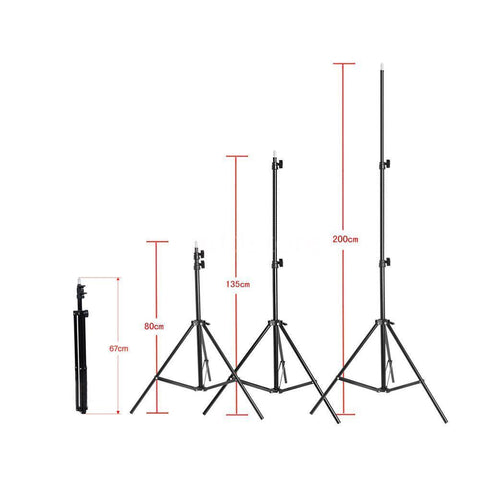 Studio Multifunction Light Stand Tripod