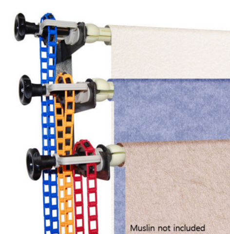 Manual Backdrop Roller System (holds 3 backdrops)
