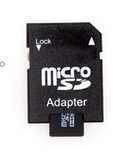Micro Sd Memory Card With Adapter For Mobile And Cameras