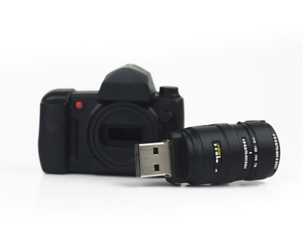 Camera Shaped Memory Usb Universal Flash Drive