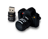 Camera Shaped Memory USB Flash Drive