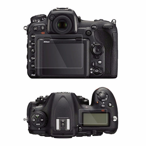 Tempered Glass Screen Protectors For Nikon D500 (LCD monitor & control panel)