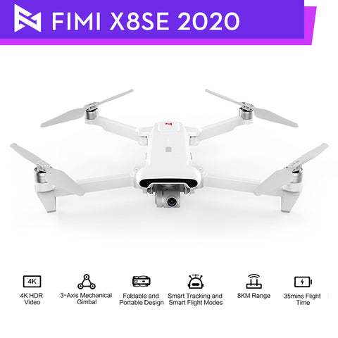 Original Se 2020 Drone With 3-axis Gimbal 4k Hd Camera Flight Battery