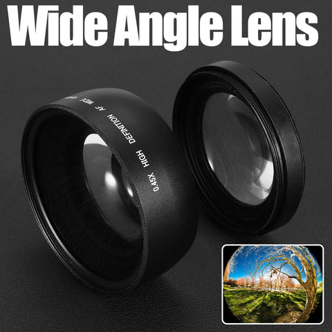 Wide Angle Macro Lens For Canon Eos Camera Lens Part
