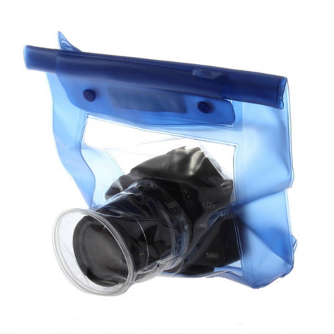 20M Waterproof DSLR SLR digital Camera outdoor Underwater Housing Case Pouch Dry Bag For Canon for Nikon hot new