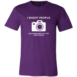 'Shoot People' Photographer T-Shirt
