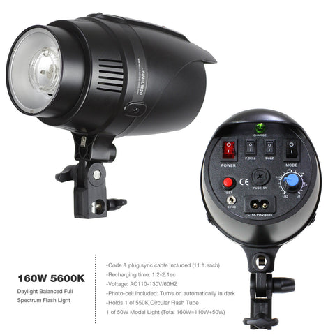 Ultimate Strobe Flash Lighting Kit (Strobes, Gel Filters, Soft Boxes, Stands, Umbrellas, Triggers & More) For Photography