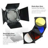 Ultimate 17-pcs Strobe Flash Lighting Kit (strobes, gel filters, softboxes, stnads, umbrellas, triggers & more)
