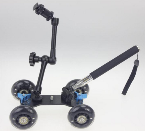 Pro-flex Roller Dolly Kit For Dslr / Video For Smooth Videos