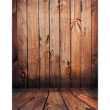Wooden Panels Photography Studio Backdrop