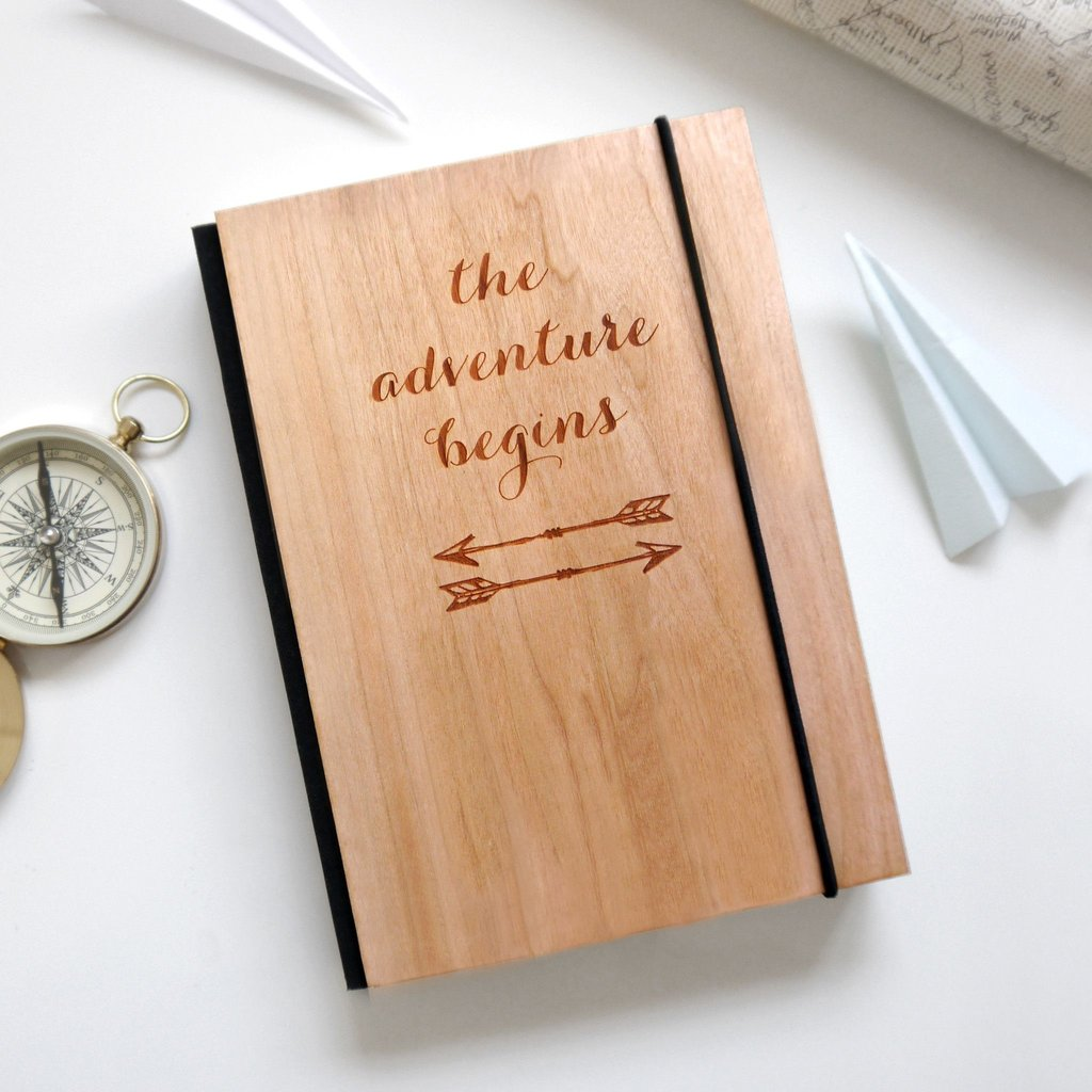 personalised adventure travel journal