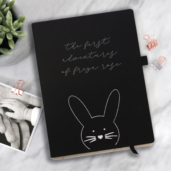 Personalised New Baby Notebook