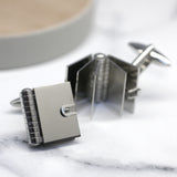 Opening Book Locket Cufflinks