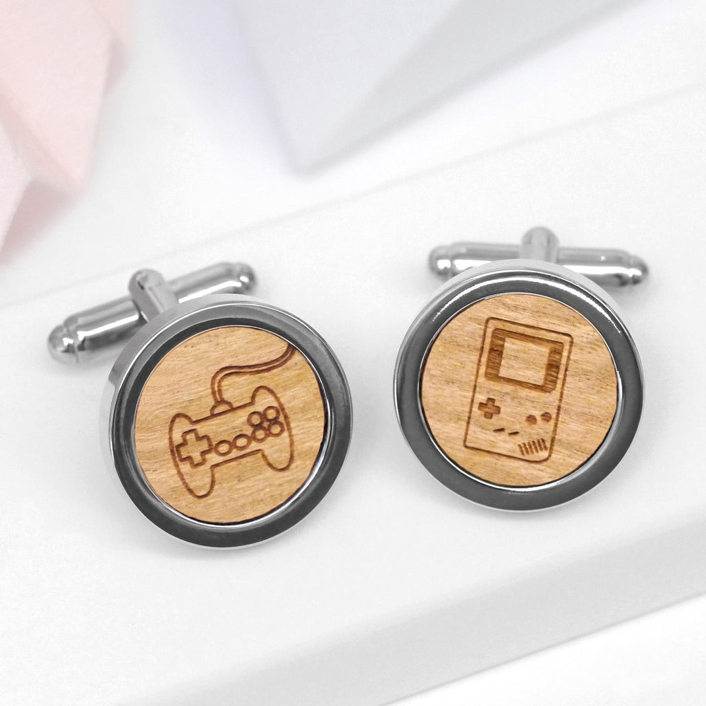 Wooden Game Cufflinks