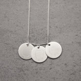 Personalised Generations Portrait Disc Necklace