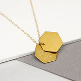 Zodiac Traits Hexagon Necklace