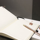 Personalised Written Date Notebook