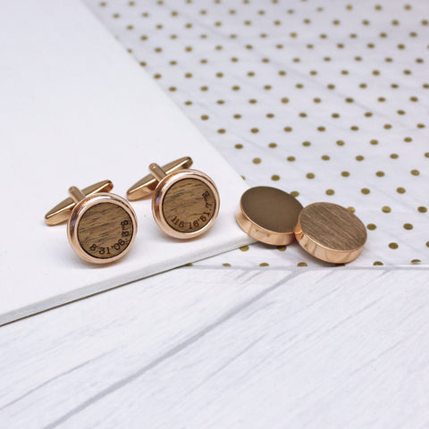 Hidden Coordinates Twist Cufflinks