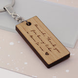 Personalised Like a Mum Keyring