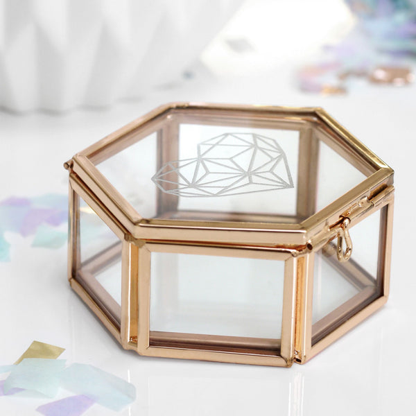 gold jewellery box