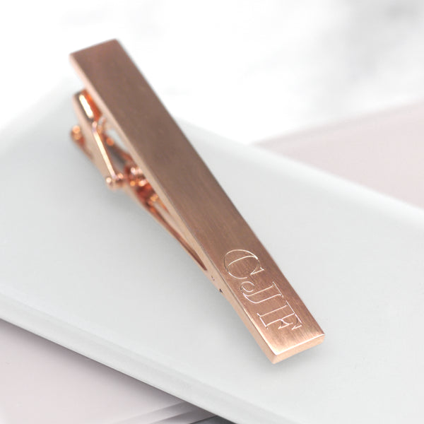 Personalised Initial Tie Clip