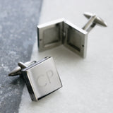 Personalised Square Locket Cufflinks