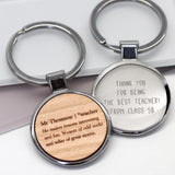 Personalised Teacher Definition Keyring